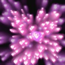 gif trippy lights pink purple animation animated gif neon hearts