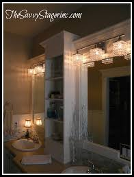 Wood Framed Bathroom Mirrors by Best 25 Bathroom Mirror With Shelf Ideas On Pinterest Framing