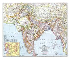 Map Of Oz India And Burma Map