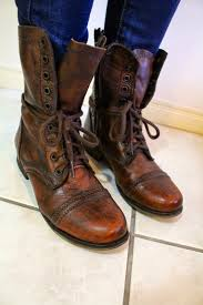 everyday motorcycle boots blue singlet combat boots u0026 a cream cardigan brie u0027s petite world