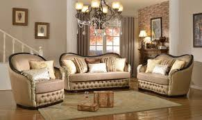 Curved Sofas And Loveseats Traditional Curved Beige Sofa Loveseat With Black Gold Wood Frame