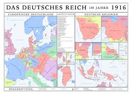 Unification Of Germany Map by Austrian United Greater Germany 1916 By Houseofhesse On Deviantart