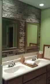 designs cozy airstone bathroom ideas 19 diy rustic bathroom