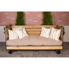 industrial farm sofa wine barrel furniture