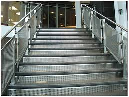Stainless Steel Stair Handrails Stainless Fabricators Inc Stainless Steel Railing Cable Railing