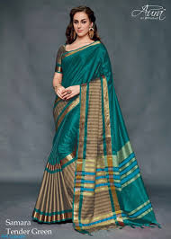 best cotton aura samara 9 pure silk cotton saree best price in surat rr gandhi