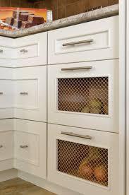 vegetable storage kitchen cabinets potato and bins kitchen ideas photos houzz
