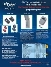 moore o matic garage door opener promotional materials skylinkhome com