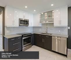 contemporary kitchen cabinets contemporary kitchen cabinets in thermofoil kitchen craft