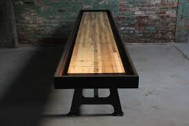 antique shuffleboard table for sale furniture shuffleboard table for sale made with reclaimed oak how