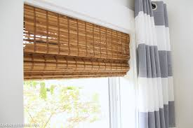 Bamboo Shades Blinds The Blinds Are In Our Cordless Bamboo Woven Blinds The Happy