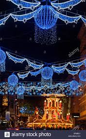 New Christmas Lights by Birmingham Christmas Lights 2015 Street Scene And German Market On