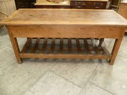 antique kitchen island antique pine mill table kitchen island 236890