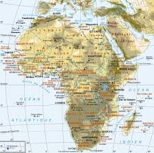 Africa Map Countries And Capitals by Www Mappi Net Maps Of Continents Africa