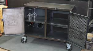 Small Media Cabinet Furniture Real Industrial Edge Furniture Llc Small Industrial Media Cabinet