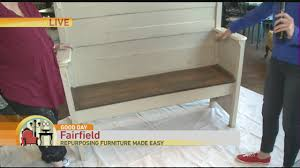 repurposing furniture how to repurpose furniture pt 3 good day sacramento