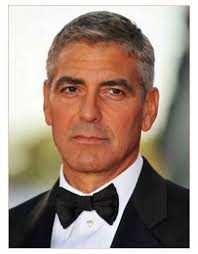 cute short hairstyles for men together with george clooney best