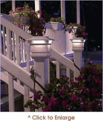 photo tutorial on how to install low voltage deck lighting deck