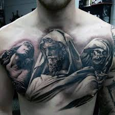 90 black ink tattoo designs for men dark ink ideas