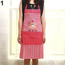 fashion girls women cartoon cooking bear aprons fdr kitchen chef