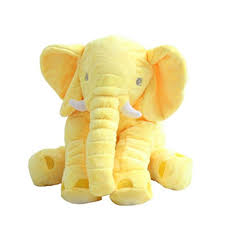 baby children elephant pillow long nose plush soft toy animal fast