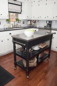 small kitchen island on wheels home design