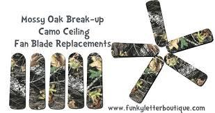replacement fan blades lowes ceiling fan blade replacements mossy oak break up ceiling fan blades
