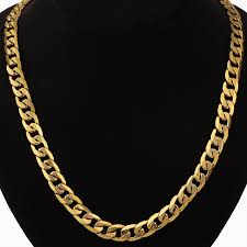 long vintage necklace images Hip hop chunky long gold chain for men 12mm gold color vintage jpg