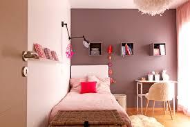 une chambre de fille poudré et taupe