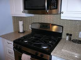 glass tile backsplash in a brick pattern paramount stone