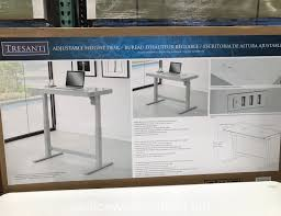 Motorized Adjustable Height Desk by Desks At Costco Costco Standing Desk Wm Homes Office Desks Costco