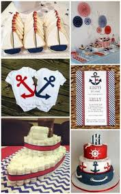 nautical baby shower ideas from hotref bauticalbabyshower