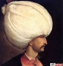 Ottoman Ruler Of Suleiman The Magnificent One Of The Greatest Rulers Of