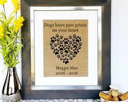 Condolence Gift Ideas Death Of Pet Etsy
