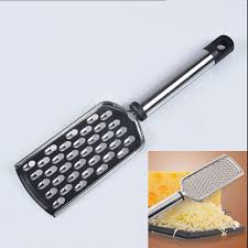 hand held stainless steel grater cheese zester vegetable kitchen