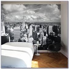 Skyline Wallpaper Bedroom New York Wallpaper Bedroom Ideas Bedroom Home Design Ideas