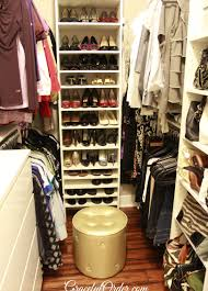 closet ideas simple creating more space in your cluttered