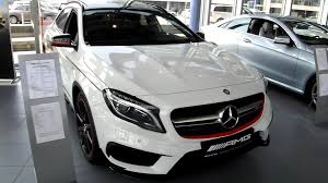 mercedes a 45 amg 4matic 2015 mercedes gla 45 amg 4matic edition 1 chassis review exterior