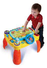 infant activity table toy vtech idiscover app activity table toy review besttoyreviews2014