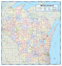 Map Of Wisconsin by Map Of Wisconsin Counties With Map Of Wisconsin Counties Map Of