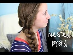 the nested side braid by brooklyn cute girls hairstyles makeup