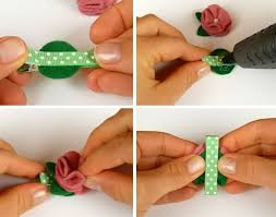 Flower Decorations For Hair Handmade Baby Hair Clip Tutorial