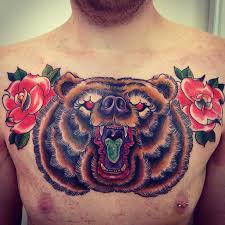 bear chest tattoo tattoo collections
