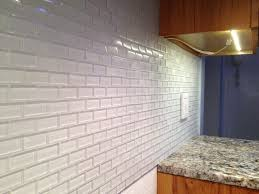 what color grout to use with glass tile elegant white and blue