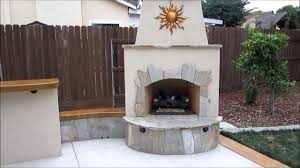 Outdoor Kitchen And Fireplace Designs West Sacramento Outdoor Kitchen U0026 Fireplace W Ying Yang Bar By