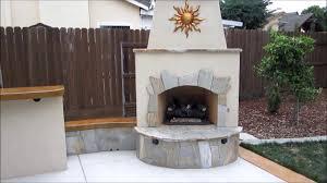 west sacramento outdoor kitchen u0026 fireplace w ying yang bar by
