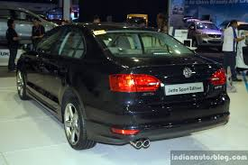 volkswagen jetta sports car vw jetta sport edition rear three quarter at the 2014 philippines