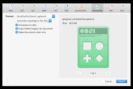omnigraffle 7 0 for mac user manual exporting image and graphics