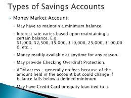 lesson plan 3 savings checking accounts