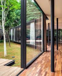 Glass Pavilion Glass Pavilion At The Gardens Of Sao Paulo Interiorzine